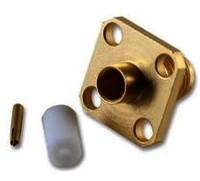CON:SMA Plug for  141 S/R Straight Direct solder  Gold